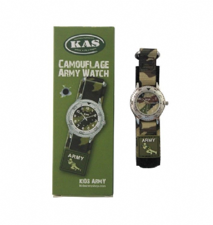 Kids Army Military Camo Camouflage Wrist Watch Ideal Gift For Little soldiers BN